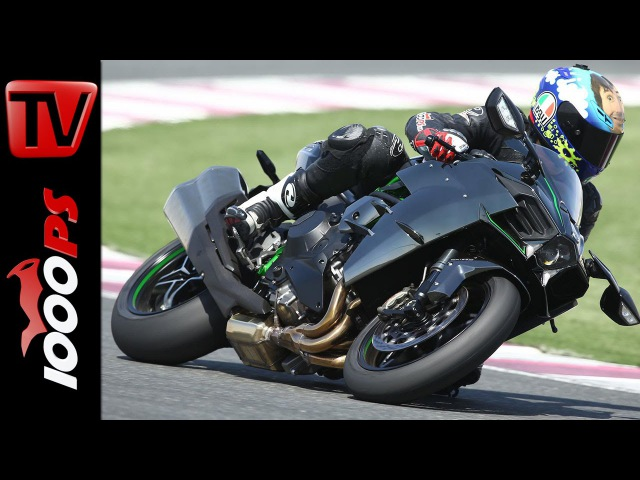 Test Kawasaki Ninja H2 Rennstrecke 300km h Action Sound Fazit