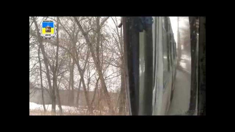 Черкасский троллейбус- ЗиУ-683 №2020 13.02.2015/ Черкаський тролейбус- ЗіУ-683 №2020 13.02.2015