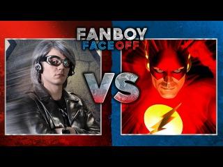 Quicksilver vs The Flash: Fanboy Faceoff