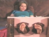 Ashley Tickled Bare Feet