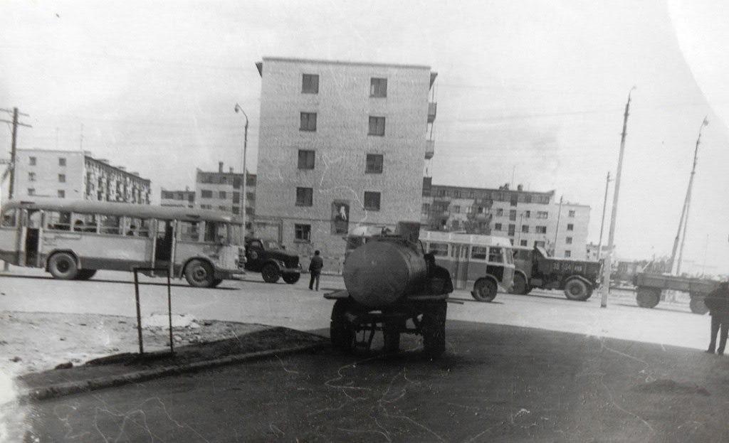 Конечка 1 мкр. 1970 год