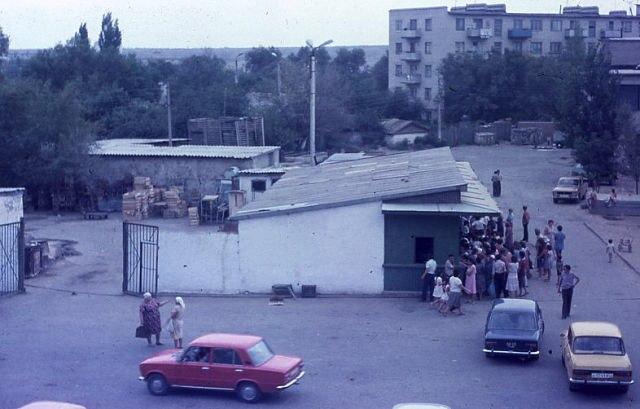 1-й микрорайон. 1985 год