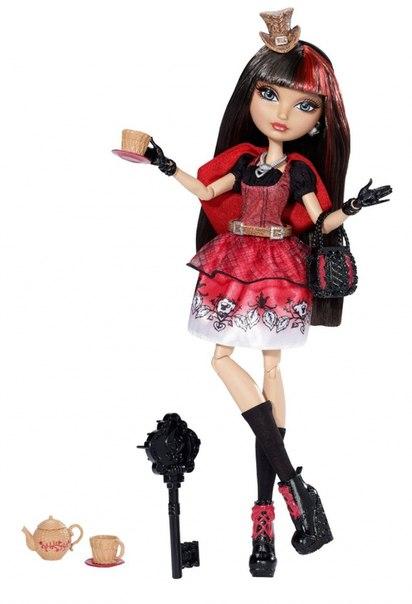 платье красное в черную точку