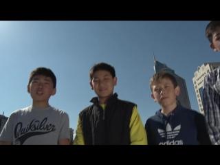 Астана қаласының №57 орта мектебінің оқушылары тілек айтадыы)))