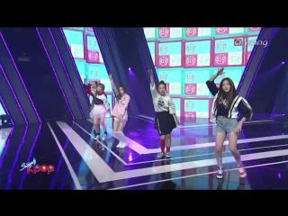 150925 Simply K-POP @ Red Velvet - Dumb Dumb