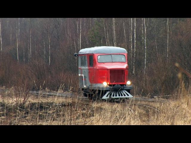 PD1-353 narrow gauge draisine, Tyosovo peat narrow gauge railway