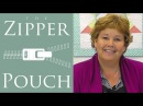 The Zipper Pouch An Easy Quilting Project Tutorial by Jenny Doan of Missouri Star Quilt Co