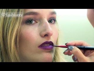 Marchesa Spring/Summer 2014 Hair and Make Up | Mercedes-Benz Fashion Week New York MBFWNY |FashionTV