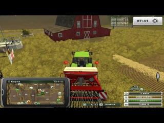 FarmingSimulator2013  Часть 1 техника фирмы Claas у нас в ангаре