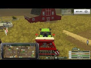 FarmingSimulator2013  Часть 1 техника фирмы Claas у нас в ангаре