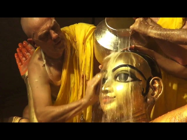 Маха Абхишека Шри Панча Таттвы Шри Дхама Маяпур 2014