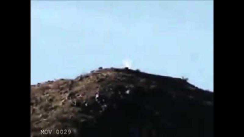 Ангела на горе засняли на камеру
