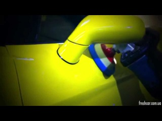 Fresh car autostudio work wiht Corvette.
