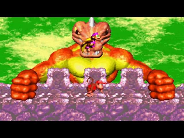 Donkey Kong Country 2 GBA Boss 6 Kerozene (no damage) HD