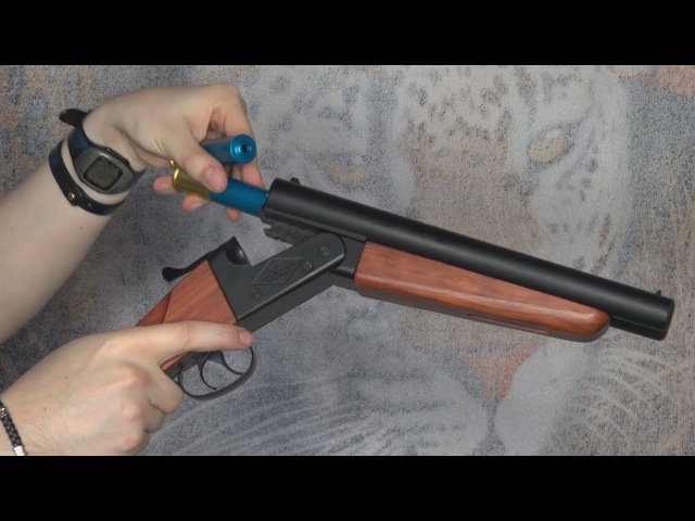 (Airsoft) Shotgun double barrel Wa Shan (6mm version) - KhanSeb