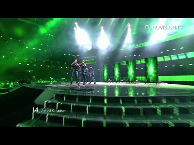 Blue I Can United Kingdom Live 2011 Eurovision Song Contest Final