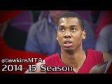 Hassan Whiteside Full Highlights 2015.02.03 at Pistons - 11 Pts, 10 Rebs, 5 Blks, BEAST!