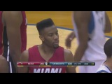 Norris Cole & Hassan Whitesides Embarassing Turnover vs Timberwolves | Feb 4, 2015 | NBA 2014-15