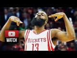 James Harden SICK Full Highlights vs Bucks (2015.02.06) - 33 Pts, 5 Ast, FEAR THE BEARD!