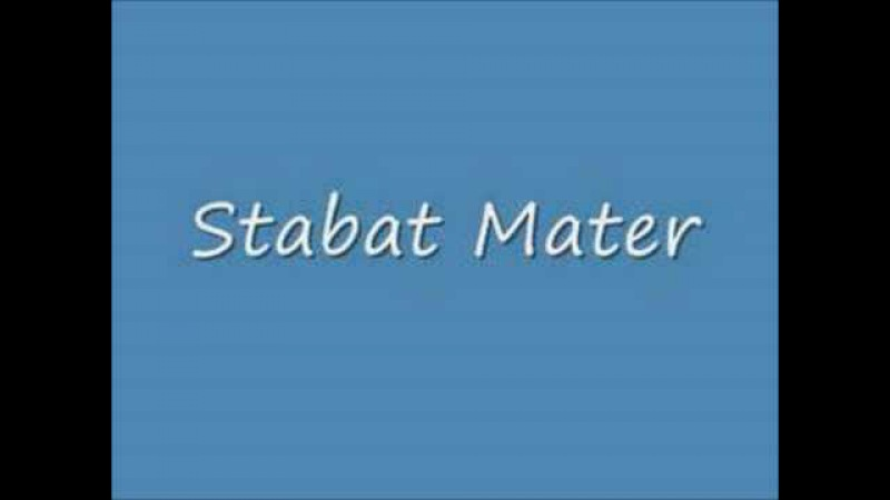 Gioachino Rossini - Stabat Mater - Pro peccatis suae gentis (Dmitry Belosselskiy)