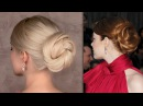 Emma Stone hair tutorial for New Year's eve: easy red carpet updo in 3 minutes