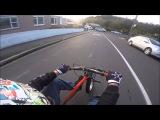 Drift trike-steepest street in the world