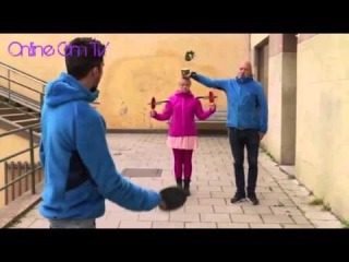 Супер трюк с ножами.Online Gm TV