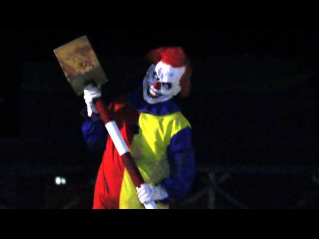 Жуткий ПРАНК с клоуном убийцей