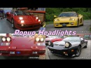 Tribute to Pop Up Headlights: Almost every car made with them