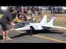 Worlds Largest RC Scale Mig 25 Twin Jet Turbine at Tokoroa
