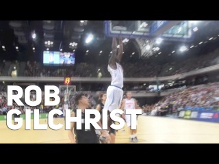 Robert Gilchrist Impresses in GB Debut! Great Britain vs New Zealand Basketball at the Copper Box