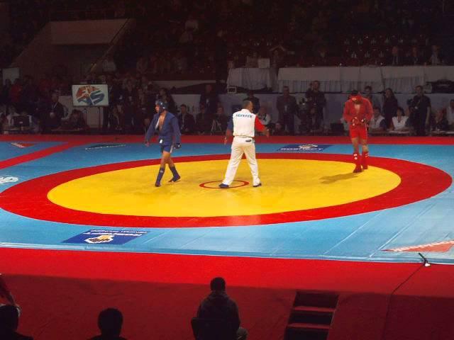 финал Казахстан Россия [Чемпионат Мира по самбо 2013]
