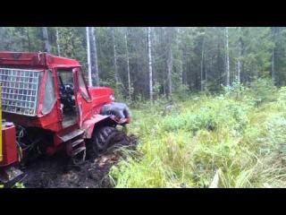 Лесной трактор - МОНСТР