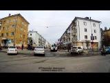 ДТП Васильева - Дзержинского.  Снежинск 6 апреля 2015