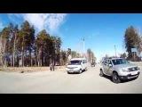 Безалаберность проезда перекрестка - Снежинск 1 апреля 2015