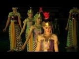 Искусство Индонезии. Храм Прамбанан. Постановка «Рама и Сита»
