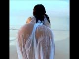 Gianna Michaels See-Through Beach Body -