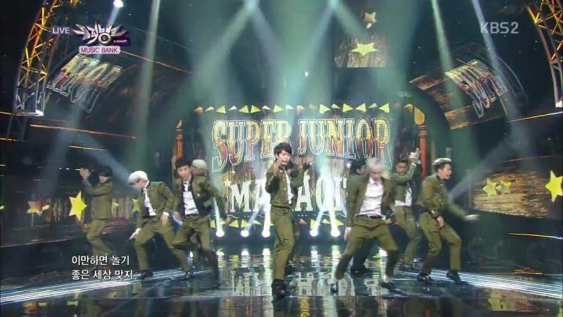 Super Junior 슈퍼주니어_Front-Runner Stage MAMACITA(아야야)_KBS MUSIC BANK_2014.09.12