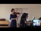 Танеев - Соната для скрипки и фортепиано