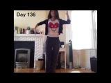 Девочка решила научиться танцевать за год