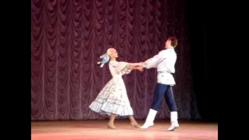 лирический танец Сибирский подснежник