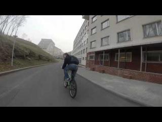 Покатушки на велосипедах о. Русский
