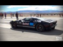 2000hp Twin Turbo Ford GT - Burnouts and Drag Races