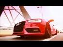 Audi A4 Avant Vermelha nas rodas aro 20 Concave KeepCars