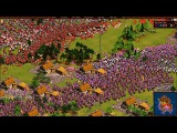 Cossacks back to war DEF gameplay 1v1