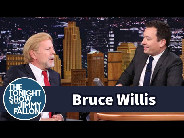 Bruce Willis Has Donald Trump Hair