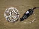 Friction Welded Truncated Icosahedron (Buckyball)