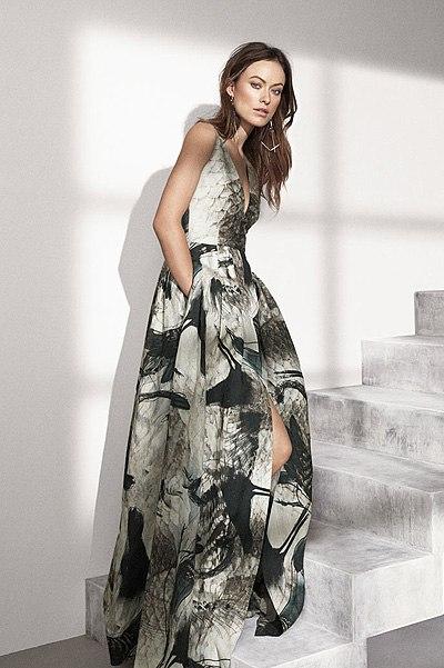 Звезда телесериала «Хаус» Оливия Уайлд снялась для промо-компании экологичной коллекции одежды Conscious Exclusive H&M.