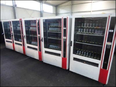 Торговые автоматы из Европы