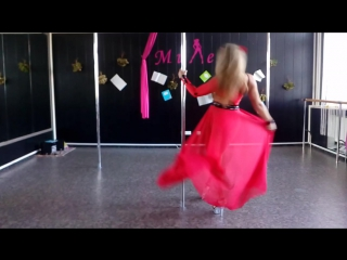 Елена Шевелёва Pole dance Невероятное танго на пилоне